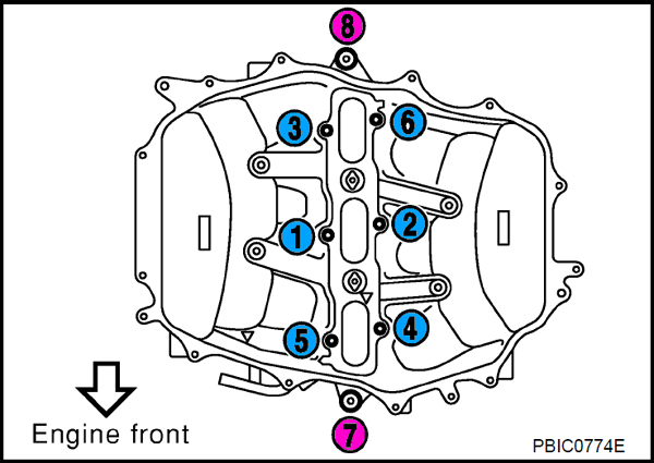 oem plenum    intake manifold bolt sizes